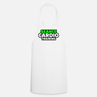 Training séance cardio training - Tablier de cuisine