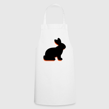 Un lapin assis - Tablier de cuisine