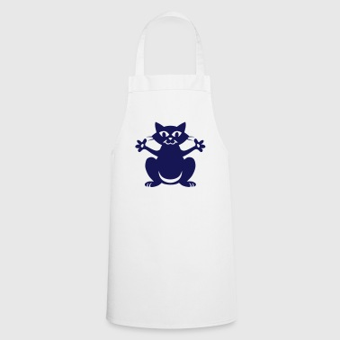 Cat  head - Cooking Apron