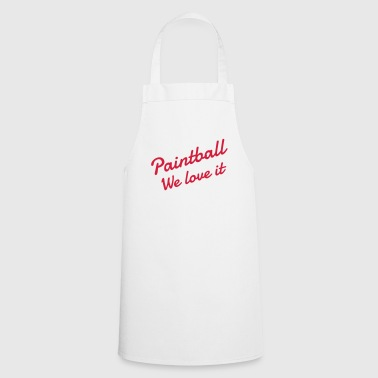 Paintball - Paintballer - Airsoft - Sport - Winner - Cooking Apron
