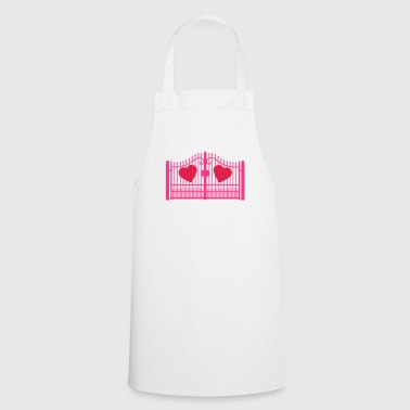 gate for hearts_c1 - Cooking Apron