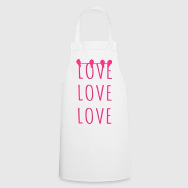 Love Love Love - Cooking Apron