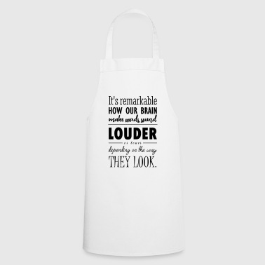 Words sound - Cooking Apron