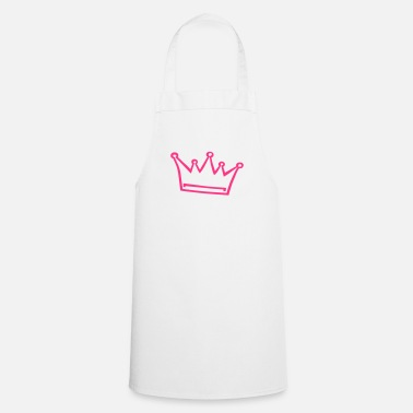 Princess crown, princess, prince - Cooking Apron