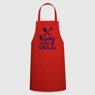 king of the kitchen - Cooking Apron