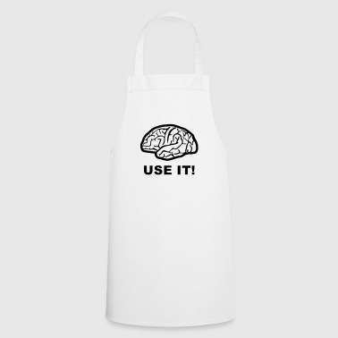 Brain - use it! - Cooking Apron