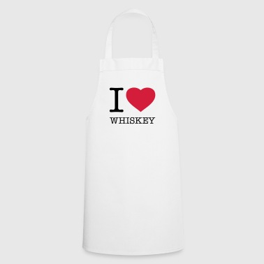 I LOVE WHISKEY  - Tablier de cuisine
