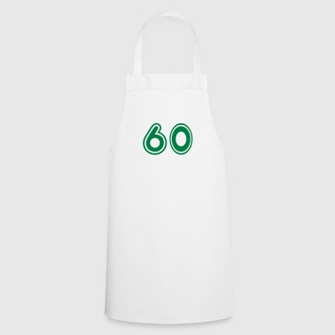 Green College Numers, College Zahlen, Nummern, 60 - Cooking Apron