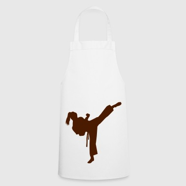 Karate female - Tablier de cuisine