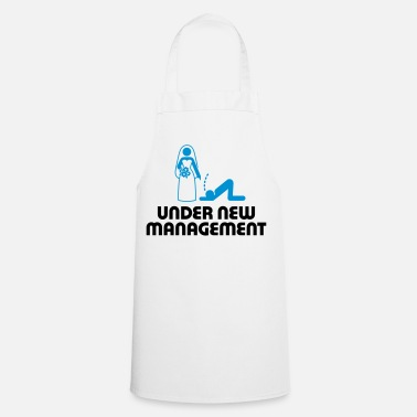 Hen Under new management - Cooking Apron