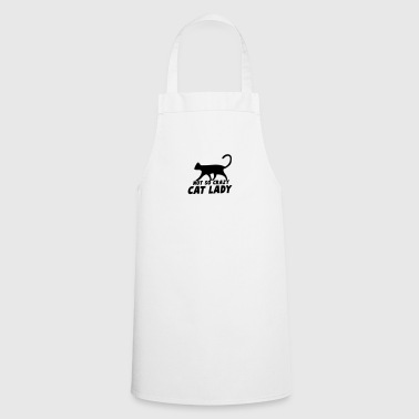 NOT so crazy cat lady - Cooking Apron