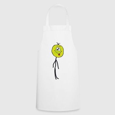 Sick Stickman, emoticon - Tablier de cuisine
