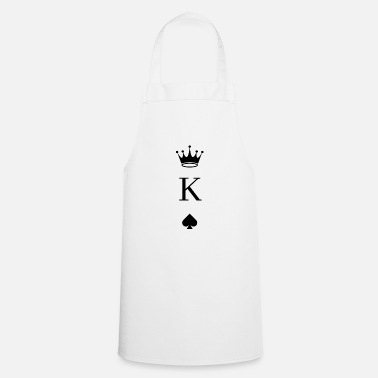 Pik Playing Card Pik King - Cooking Apron
