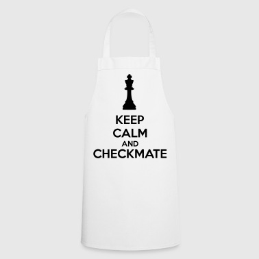 Keep Calm And Checkmate   - Delantal de cocina