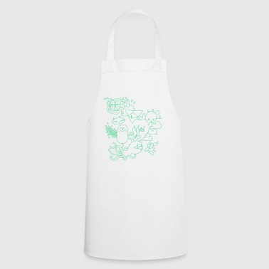 Grumpy Rabbits - Cooking Apron