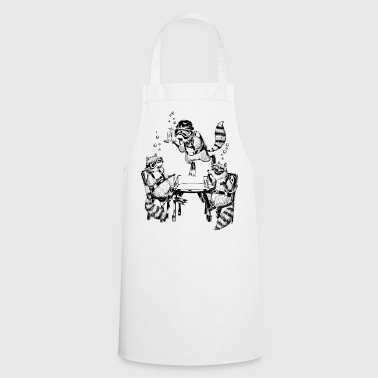 Racoon Underwater Gin Party - Cooking Apron