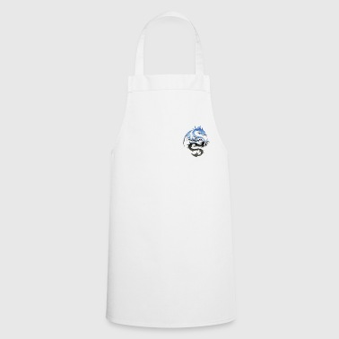 Silver Silver dragon - Cooking Apron