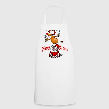 Merry X-mas - Merry Christmas - Cooking Apron