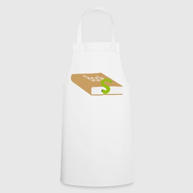 Bookworm Bookworm book books bookworm 3c - Cooking Apron