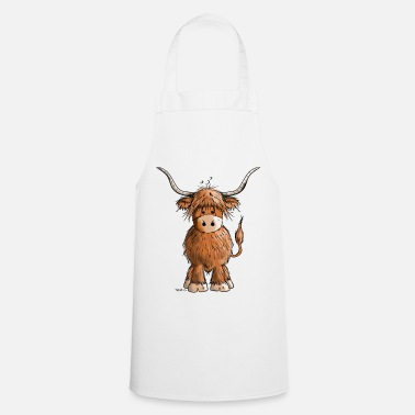 Scottish Scottish Highland Cattle - Apron