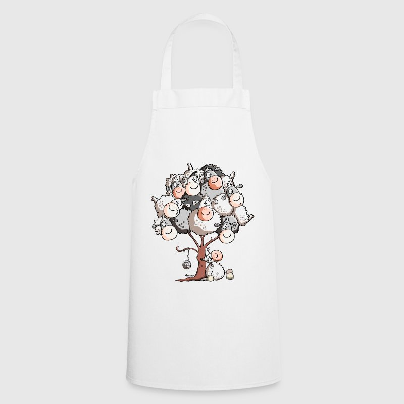Funny Sheep Tree - Cooking Apron