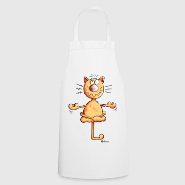 Yoga Chat - Tablier de cuisine