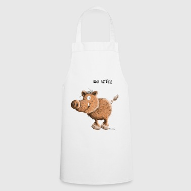 Be Wild - Wild Boar - Pig - Pigs - Cooking Apron
