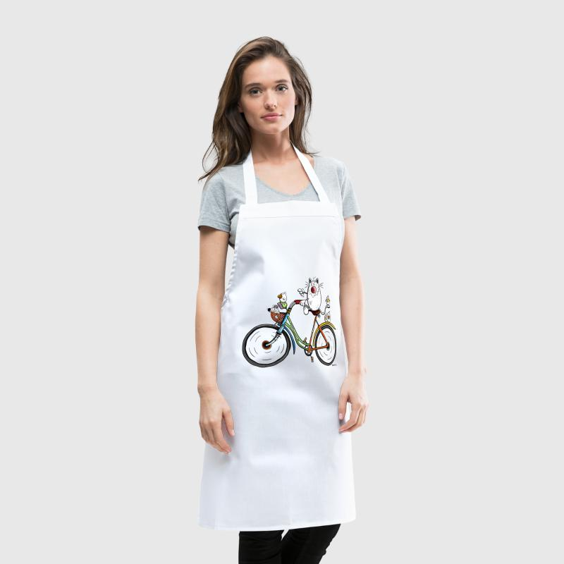 Cat is cycling - Cooking Apron