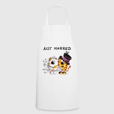 Just Married - Cooking Apron