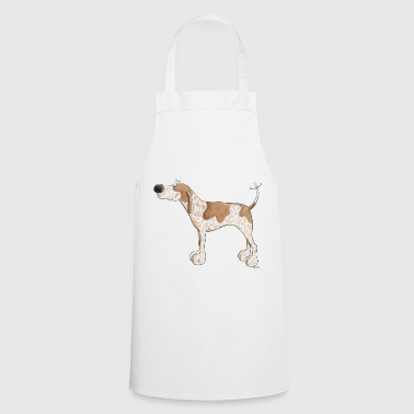 Cute English Coonhound - Cooking Apron