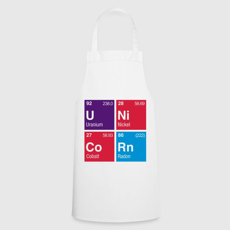 UNiCoRn Periodic Table of Elements - Cooking Apron