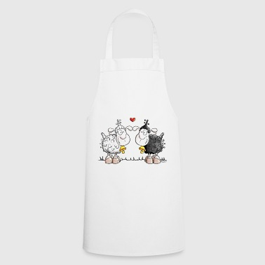 Sheep in love - Cooking Apron