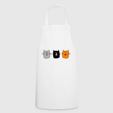Cat concert (b) - Cooking Apron