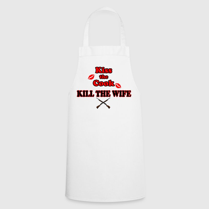 Kiss the Cook, kill the Wife - Cooking Apron