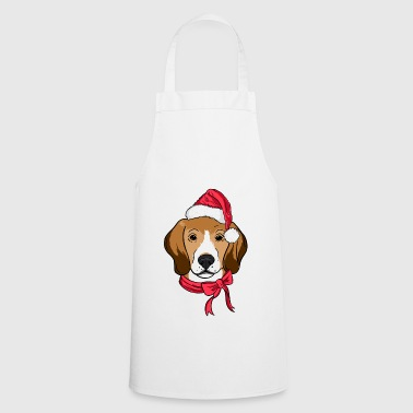 Beagle Xmas Hat Dog Lover Christmas - Keukenschort