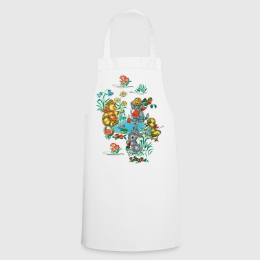 1970s Wallpaper - Cooking Apron