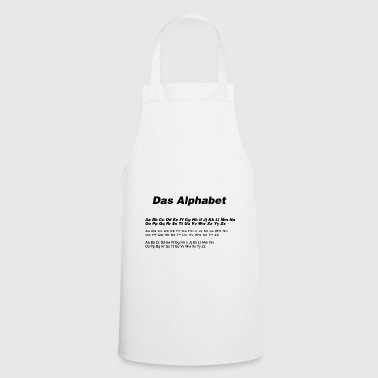 The alphabet - Cooking Apron