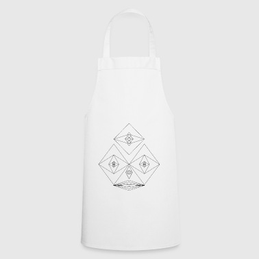 Meadow Faces meadow - Cooking Apron