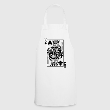 King Card black cross king card gift idea - Cooking Apron