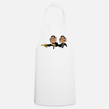 Funny &amp Monkey Pulp Funny Design for Bottles & Mugs - Apron
