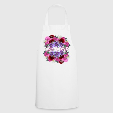 SWEET GIRL THE GIRL FLOWERS GIFT FOR GIRLS - Cooking Apron