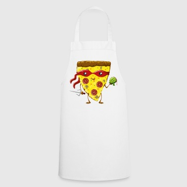 Ninja Pizza eats turtle - Tablier de cuisine