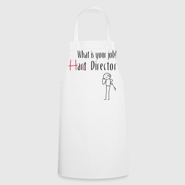 Hard Director - Cooking Apron
