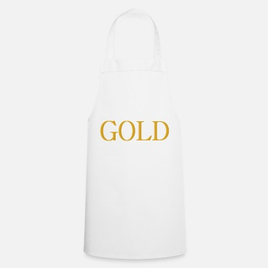 Gold GOLD - Cooking Apron
