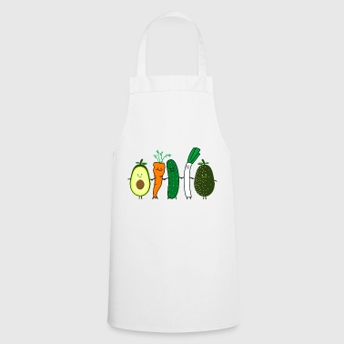 vegetable friends - Cooking Apron