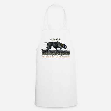 Pointer German Wirehaired Hair The Born Hunter - Cooking Apron