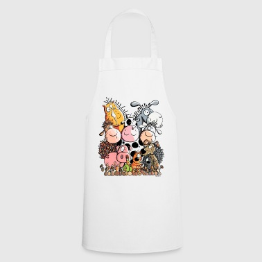 Funny Farm Animals - Cooking Apron