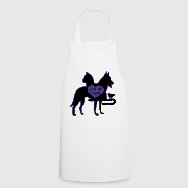 Love of Animals - Cooking Apron