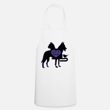 Animal Love of Animals - Cooking Apron