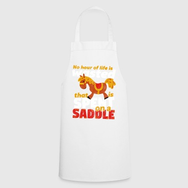 Saddle Spend on a Saddle - Cooking Apron